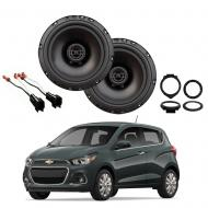Chevrolet Spark 2016-2018 Factory Speaker Upgrade Package Harmony R65 Speakers
