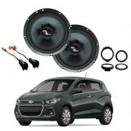 Chevrolet Spark 2016-2018 Premium Speaker Upgrade Package Harmony C65 Speakers