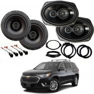 Chevrolet Traverse 2018 Factory Speaker Upgrade Harmony R69 R65 Speakers New