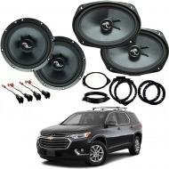 Chevrolet Traverse 2018 Premium Speaker Upgrade Harmony C69 C65 Speakers New