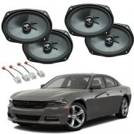 Dodge Charger 2015-2019 Premium Speaker Upgrade Package Harmony C69 Speakers New