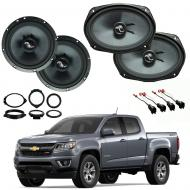 Chevrolet Colorado 2015-2018 Premium Speaker Upgrade Package Harmony C65 C69 New