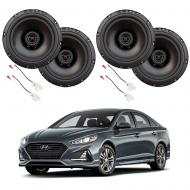 Fits Hyundai Sonata 2018-2019 Factory Speaker Upgrade Harmony R65 Speakers