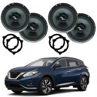 Fits Nissan Murano 2015-2018 Premium Speaker Upgrade Package Harmony C65 New