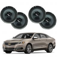 Chevrolet Impala 2014-2018 Premium Speaker Upgrade Package Harmony C65 Speakers