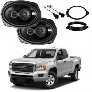 GMC Canyon Ext Cab 2015-2018 Factory Speaker Upgrade Package Harmony R69 New