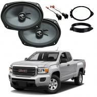 GMC Canyon Ext Cab 2015-2018 Premium Speaker Upgrade Package Harmony C69 New