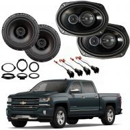 Chevrolet Silverado 1500 Crew 14-18 Factory Speaker Upgrade Harmony R69 R65