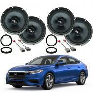 Honda Insight 2019 Premium Speaker Upgrade Package Harmony C65 Speakers New