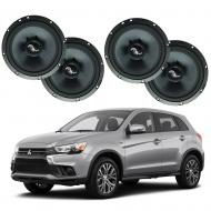 Mitsubishi Outlander 2014-2019 Premium Speaker Upgrade Package Harmony C65 New