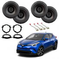 Toyota C-HR 2018-2019 Factory Speaker Upgrade Package Harmony R65 Speakers New