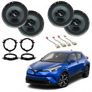 Toyota C-HR 2018-2019 Premium Speaker Upgrade Package Harmony C65 Speakers New