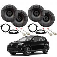Toyota RAV-4 2014-2018 Factory Speaker Upgrade Package Harmony R65 Speakers New
