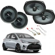 Toyota Yaris Hatchback 07-18 Premium Speaker Upgrade Harmony C69 C65 Speakers