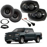 Chevrolet Silverado 1500 Ext Cab 14-18 Factory Speaker Upgrade Harmony R69 R65