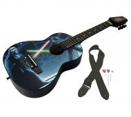 Peavey Star Wars Classic Luke vs. Vader 1/2 Size Student Acoustic 18 Fret First Beginner Guitar