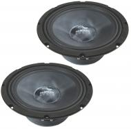 "Harmony Audio HA-CMB8 Car Stereo Cabron Mid-Bass Mid-Range 8"" Speakers 4 Ohm New"