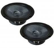 "Harmony Audio HC-CMB65 Car Stereo Cabron Mid-Bass Mid-Range 6.5"" Speakers 4 Ohm"