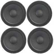 """4x Harmony HA-P12WS16 Replacement 12"""" Pro PA 500W Sub / Speaker 16 Ohm Woofer"""