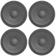 "4x Harmony HA-P18""WS8 Raw Replacement 18"" Pro PA 1200W Sub Speaker 8 Ohm Woofer"