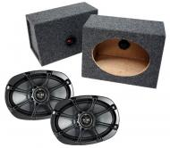 "Kicker Loaded 6"" x 9"" Enclosures (08KS690)"