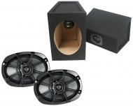 "Premium Kicker 6"" x 9"" Loaded Enclosures (08KS690)"