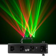 Chauvet Scorpion Bar RG DJ Lighting Red Green Laser Array Aerial Effects Light - Refurbished