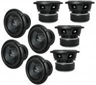 "8x Harmony Audio HA-C102 Car Competition 10"" Sub 2000W Dual 2 Ohm Subwoofer New"