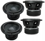 "4x Harmony Audio HA-C104 Car Competition 10"" Sub 2000W Dual 4 Ohm Subwoofer New"