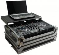 Harmony HCNS6IILT Flight Glide Laptop Stand DJ Custom Case for Numark NS6 II