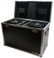 Harmony Cases HC2CH140SR Flight Case fits Chauvet Intimidator Beam 140SR x 2