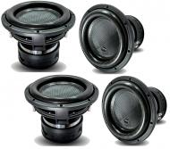 "4x Harmony HA-ML121 Monolith 12"" Competition SPL Sub 3000W Dual 1 Ohm Subwoofer"