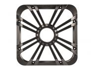 "Kicker 11L710GLC 10"" Square Charcoal Grille for Solo-Baric L7 Subwoofers w/ Accent LEDs- Lim..."