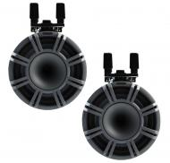 "Kicker KMTC9 Marine Audio Charcoal 9"" Speaker Boat Tower Horn Pair 44KMTC94 - Limited Stock"