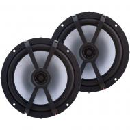 "Kicker 43BKM614L Marine Audio 6.5"" 2-Way LED Speaker"