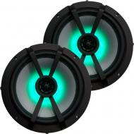 "Kicker Marine Audio KM Series 6.5"" LED Speaker Pair Similar to 45KM654L"