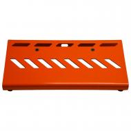 Gator Cases GPB-LAK-WH Gator GPB-LAK-OR British Orange Small Aluminum Pedal Board with Gator Carr...