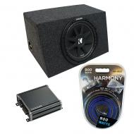 "Universal Car Stereo Hatchback Sealed Single 10"" Kicker Comp C10 Sub Box Enclosure & CXA..."