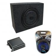 "Universal Regular Standard Cab Truck Kicker CompVT CVT10 Single 10"" Sub Box Enclosure & ..."