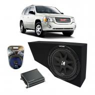"2002-2013 Cadillac Escalade EXT Underseat Harmony R104 Dual 10"" Sub Box Bundle with Kicker C..."