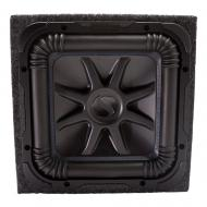 "Kicker 44L7S152 15"" Solobaric Subwoofer with Sealed Sub Box Enclosure"