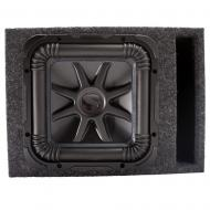"Kicker 44L7S152 15"" Solobaric Subwoofer with Vented Sub Box Enclosure"