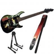 Peavey The Walking Dead Wrap Predator with Governor Guitar Strap & Stand
