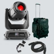 Chauvet DJ Intimidator Spot 375Z IRC Moving Head Light with Carrying Case, Heavy Duty C-Clamp, an...