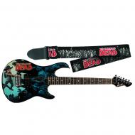 Peavey The Walking Dead Carl Rockmaster Electric Guitar with Zombie Strap