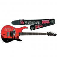 Peavey The Walking Dead Rick Rockmaster Electric Guitar with Zombie Strap