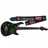 Peavey The Walking Dead Michonne Rockmaster Electric Guitar with Zombie Strap
