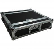 "Harmony Cases HC2UED Pro DJ Flight 2U FX Effect 16"" Depth Road Vertical Case"