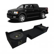04-08 Ford F-150 Super Crew Truck Kicker CompC CWCS10 Dual 10 Sub Box Final