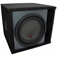 """Universal Car Stereo Paintable Ported 12"""" Alpine Type R R-W12D4 Sub Box Enclosure - Final 2 Ohm"""